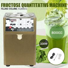 110v Fructose Quantitative Machine 330w Fructose Dispenser Milk Tea Soft Drink
