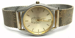IB-of-TCW-amp-H-of-A-Gold-Tone-Men-039-s-Wrist-Watch-299-Kreisler-Band