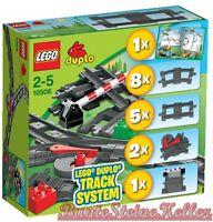 Lego® Duplo®: 10506 Eisenbahn Zubehör Set / Gerade / Weiche & 0.-€ Versand & Neu
