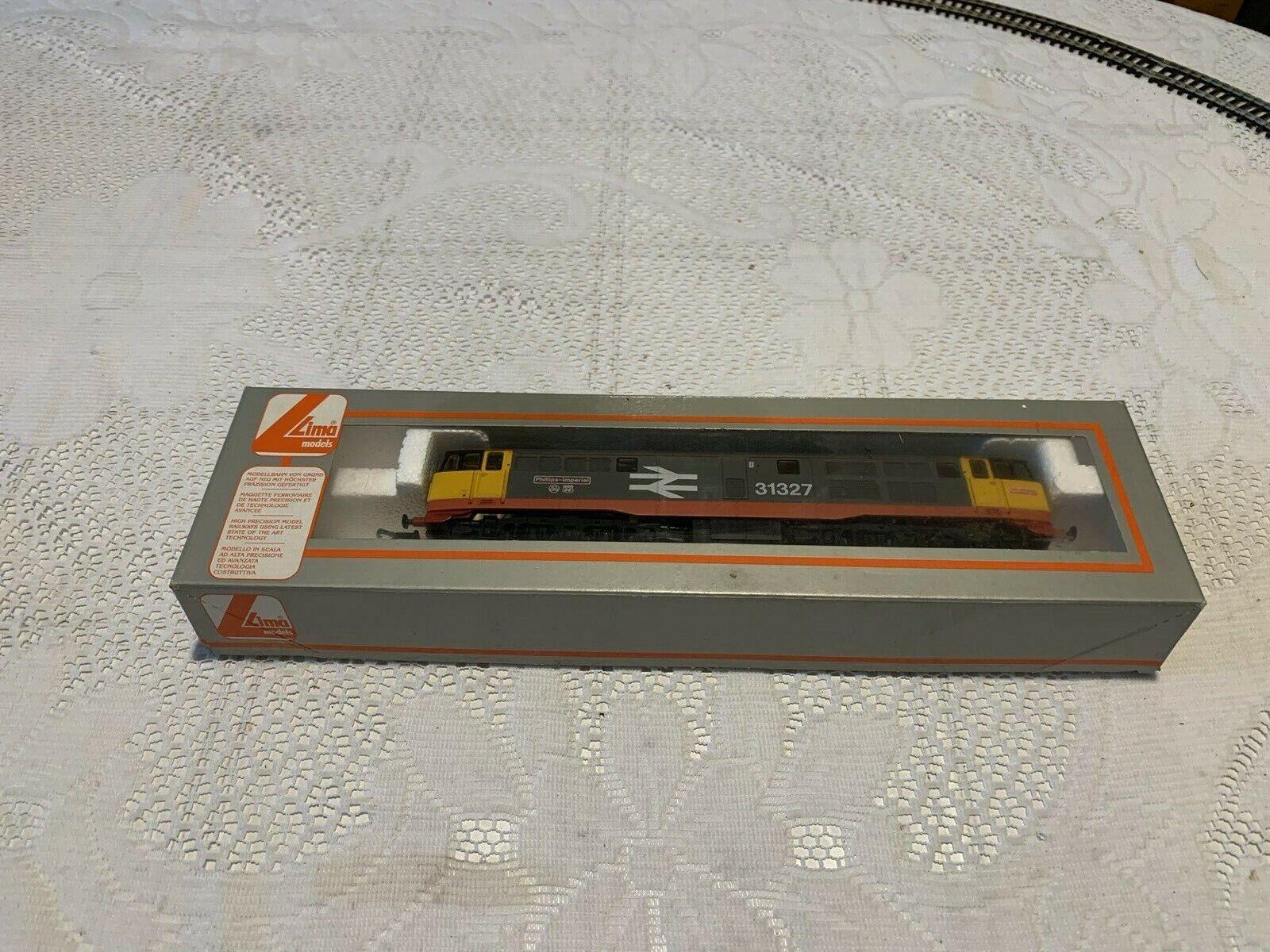Lima L205234 Class 31 r n 31327 'Phillips Imperial' Railfreight rot stripe MIB