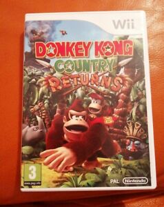 Wii-Donkey-Kong-Country-Returns-Nintendo-Game-Tested-FREEPOST