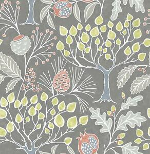 New-Brewster-NU3039-Groovy-Garden-Peel-amp-Stick-Wallpaper-Free-Shipping
