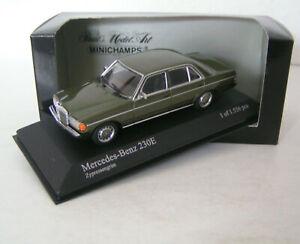 Mercedes-benz-W-123-sedan-230-e-Dark-Green-Metallic-Minichamps-1-43