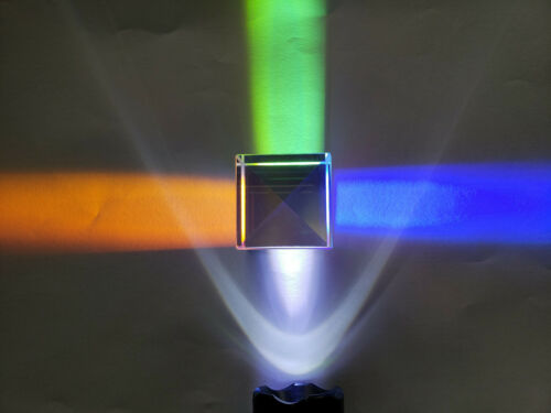 Sale Combiner Optical K9 Prism Prefect 1pc 60*60*50mm X-Cube RGB Splitter