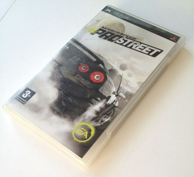 psp NFS NEED FOR SPEED PROSTREET pal fr complet sony playstation portable