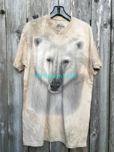 NEW The Mountain Polar Adult T-Shirt 100/% Cotton--Clearance