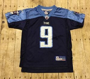 promo code ace88 5feb7 Details about Tennessee Titans Jersey Reebok Steve McNair Kids Medium 5-6  NFL Football Blue