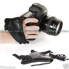 FOTGA Leather Camera Wrist Strap Hand Grip for Canon Sony Nikon Pentax Fuji DSLR