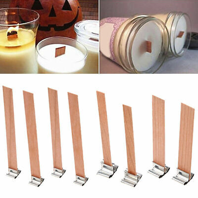 10x Diy Wooden Candle Wicks Core Multi Size Sustainer For Candle Making Supplies Ebay,Colors That Go With Black And White Stripes