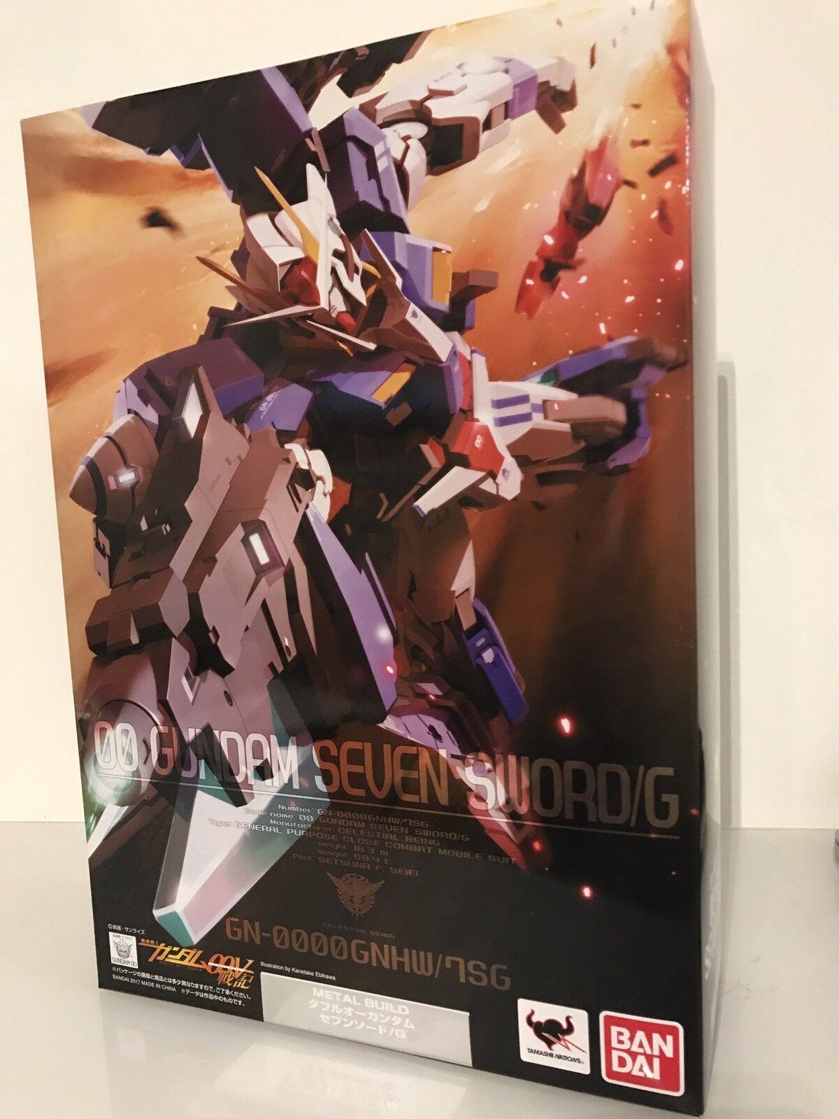 Beai Metal Build 00  Seven Sword Gundam G  100% di contro garanzia genuina