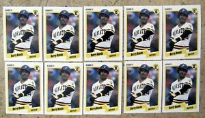 1990 Fleer #461 Barry Bonds Pittsburgh Pirates 10ct Card Lot