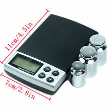 500g x 0.01g Digital Scale Silver Jewelry Weight Balance Tool Device HIUK