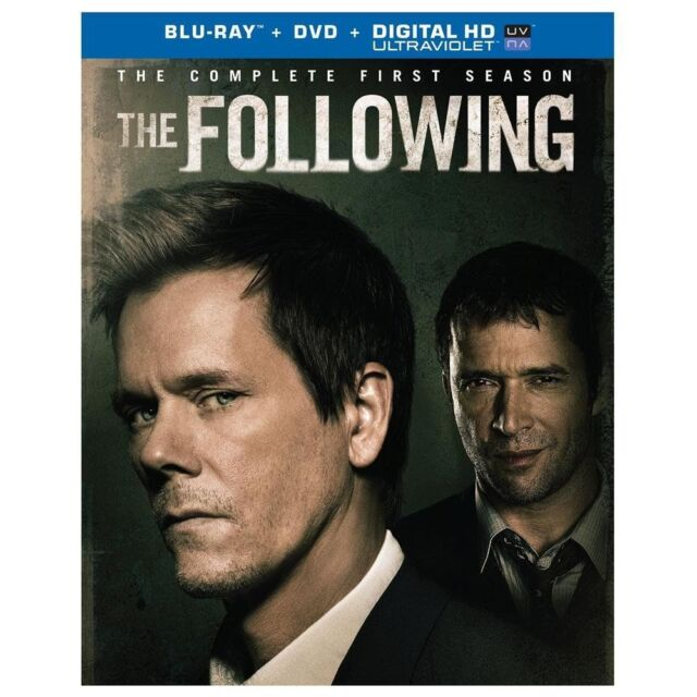 The Following: The Complete First Season (Blu-ray/DVD, 2014, 7-Disc Set)(U)