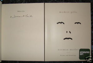 SIGNED-Norman-Mailer-039-Modest-Gifts-039-1-1