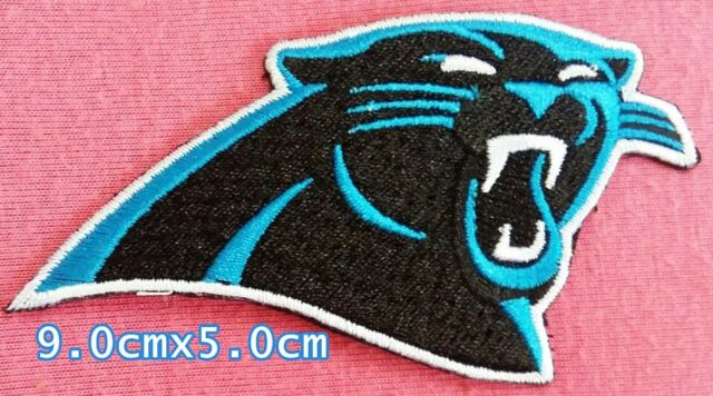 100% authentic d480f f4ec6 Carolina Panthers Football NFL Sport Logo Embroidery Patches,iron,sew on  Fabrics