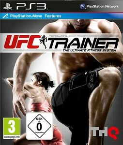 Details about PS3 Move UFC Personal Trainer the Ultimate Fitness System  Incl  Leg Strap Nip