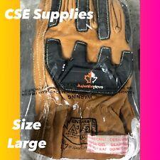 Superior Safety Heavy Duty Work Glove378gobkvb Size Large1 Pair
