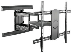 TV-Wandhalterung-A180-fuer-SAMSUNG-85-Zoll-GQ85Q60TGTXZG-und-82-Zoll-GU82TU8079