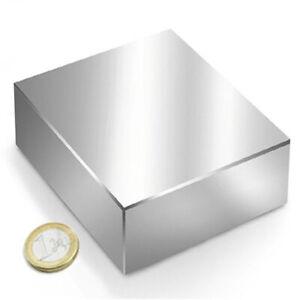 Imanes de Neodimio en bloque 70 x 70 x 30 mm.Fuerza 300 KG. Imán Súper Potente