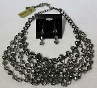 Premier Designs Jewelry mirage Necklace And Earrings