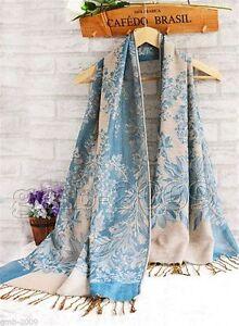 New-Fashion-Pashmina-100-Cashmere-Womens-Scarves-Paisley-Stole-Shawl-Wrap-Scarf