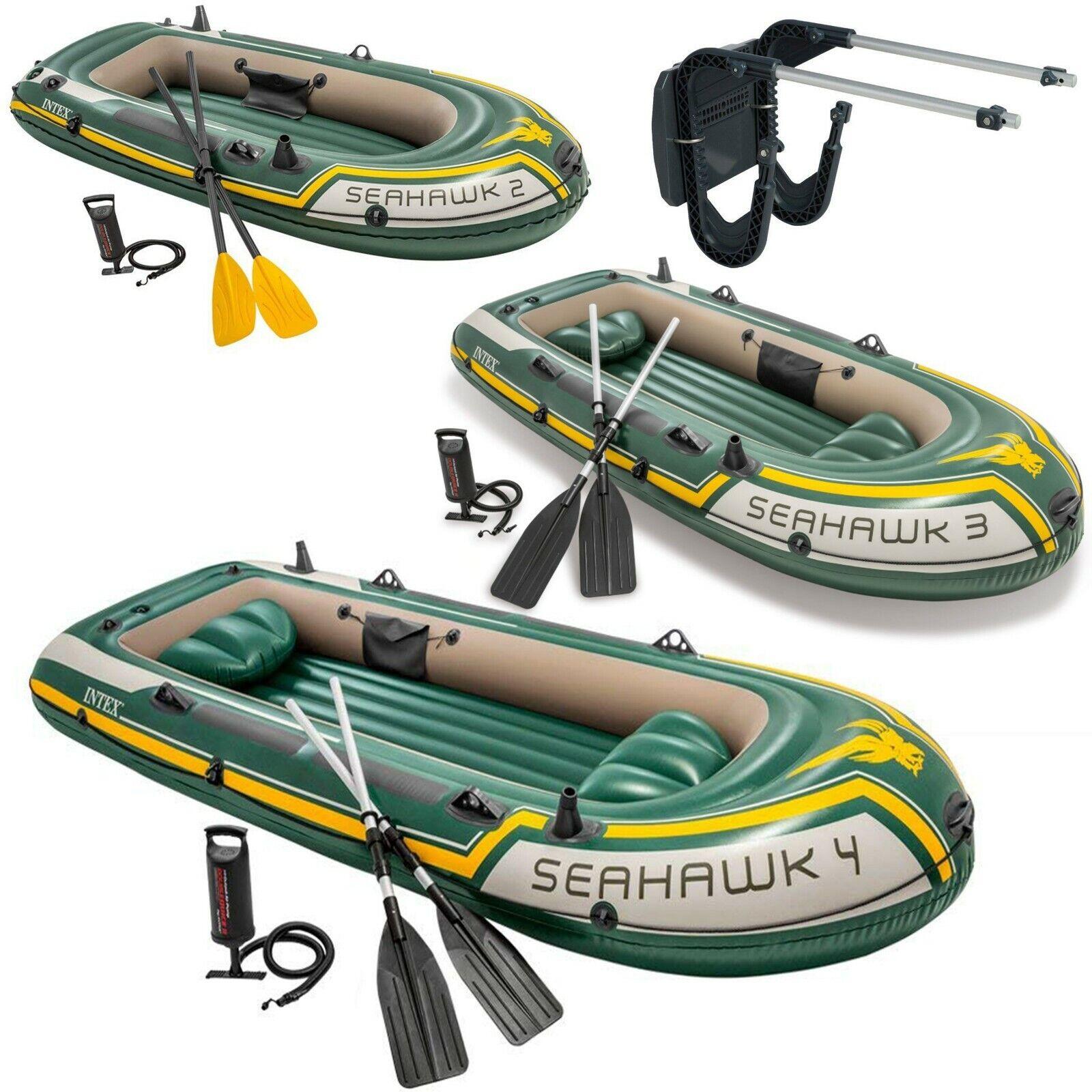 Intex  Seahawk Barco Inflable Set con Oars y Bomba - 2 3 4 Persona   Motor Juego  comprar nuevo barato
