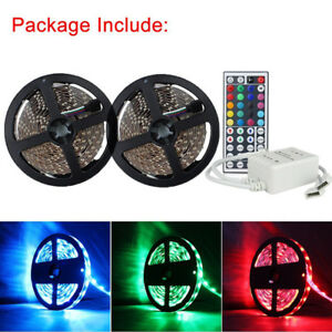 Led-Strip-Lighting-2-5M-32-8-Ft-5050-RGB-Flexible-Color-Changing-Light-Remote