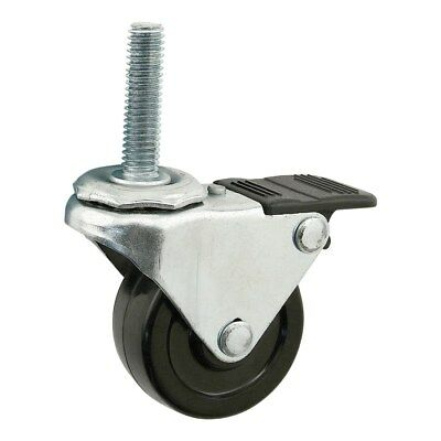Swivel Caster W//Brake,For Extrusions 80//20 2299