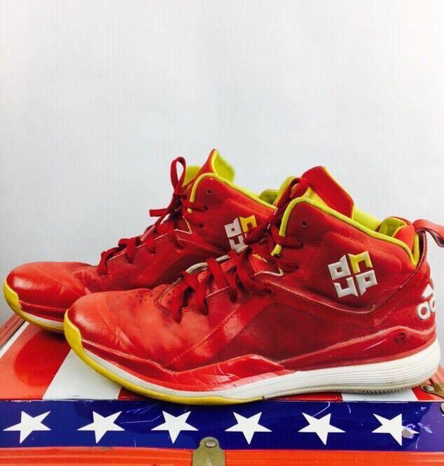 Men's Adidas Basketball Shoes Red Japan Streetwear Dwight Howard 10 1/2