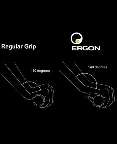 Ergon GS1 bike handle bar Grips GS1-L Large or GS1-S Small lock on