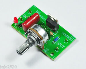 Ac motor fan dimmer speed control 1000w 220 240v triac for Fan motor speed control switch