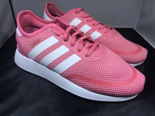 3eac15019542 adidas N-5923 Big Kids Ac8542 Chalk Pink White Grey Mesh Athletic ...