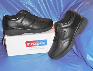 Propet-M3704-Mens-Lite-Walking-Shoe-Black-size-14-XX-EEEEE