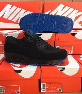 NIKE AIR MAX 90 BLACK UK SIZE 7 MENS