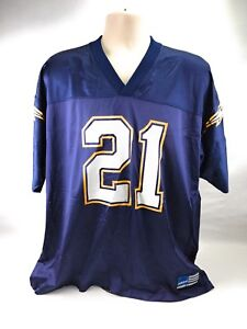 86c2be24 Adidas San Diego Chargers Ladainian Tomlinson # 21 NFL Blue Jersey ...