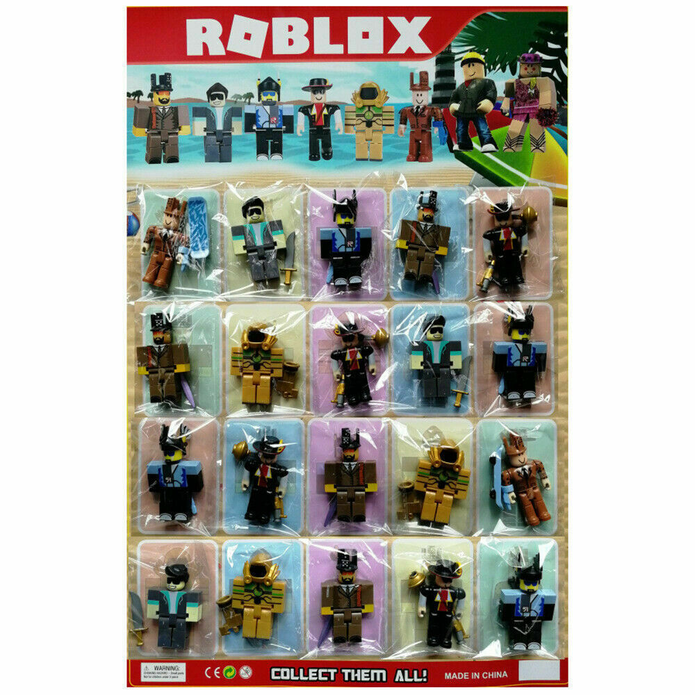 Roblox Gymnastics Game - Roblox Action Figures Game Character 6 Pcs Set Sealed Pack Toys Gift Kids Party
