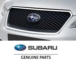 Subaru Of Claremont >> Genuine Subaru OEM Chrome Front Mesh Grille Impreza and XV Crosstrek J1010FJ050 | eBay