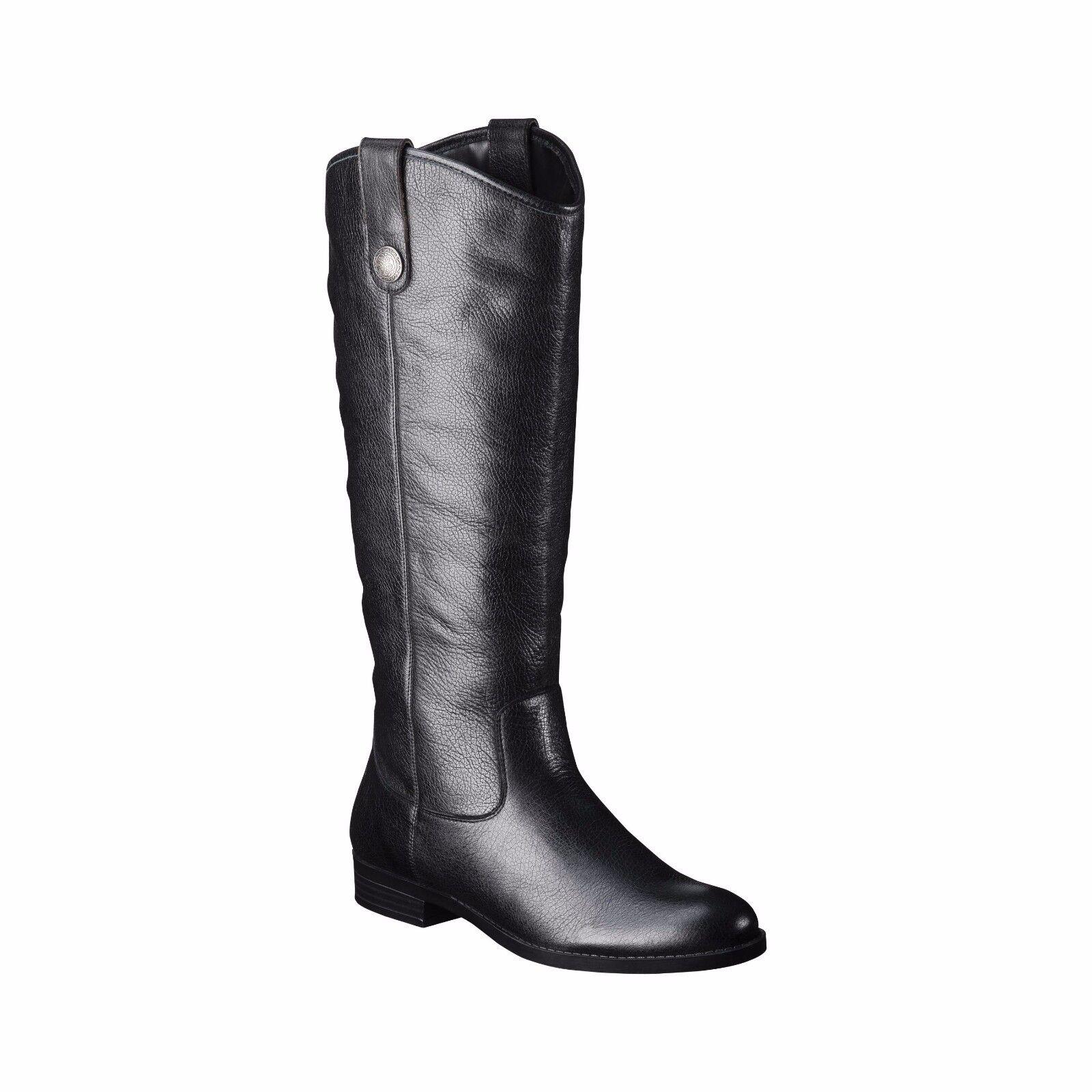 Brand New Women's Kasia Genuine Leather Riding Boots - Merona NWT(G)