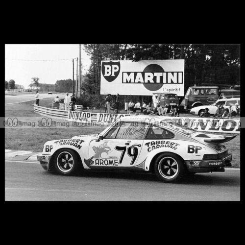 #pha.014415 Photo PORSCHE 911 CARRERA RS RAVENEL-DETRIN 24 HEURES DU MANS 1977