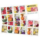 USPS New Botanical Art doublesided booklet of 20