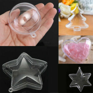 Clear-Plastic-Fillable-Christmas-Ball-DIY-Spheres-Candy-Xmas-Wedding-Decor-Craft