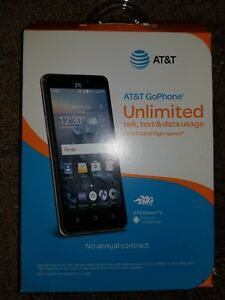 Details about UNLOCKED ZTE Maven 2 - 8GB - Black (AT&T) Smartphone