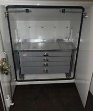 "Elliott Machine Work Tool Drawer (4) Lockable Slide Out 36""x24""x26"" Box Cabinet"