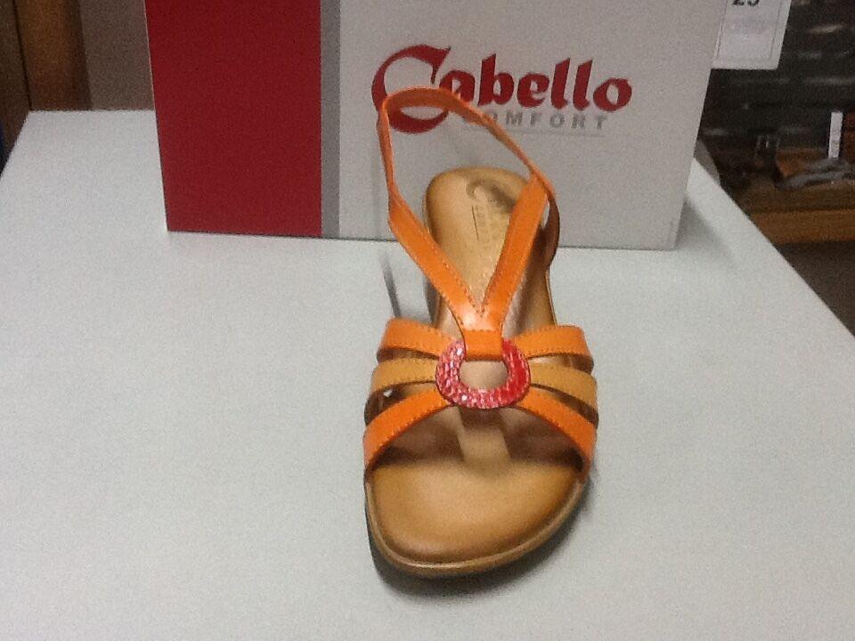 Ladies Sandale Cabello 754 orange 40/9 Größe 40/9 orange cc0e49