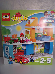 Image is loading Lego-Duplo-10835-My-Town-Family-House-NIP