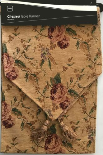 Cotton Polyester Chelsea Table Runner33 x 180cmAcrylic