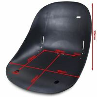 Racing Go Kart Seat Parts Black Seat For Mini Go-kart