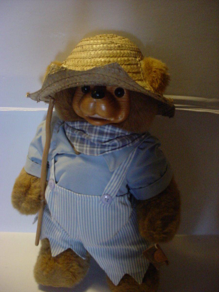 Robert Raikes Firmato Tom Sawyer 1993 Si Aprono Bocca Paglia Cappello e Pesca