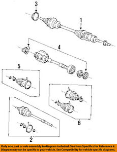 TOYOTA OEM 97-99 Camry-Front CV Axle Joint Boot 0443806021   eBayeBay