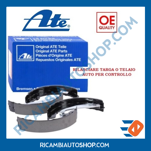 KIT GANASCE FRENO POSTERIORE ATE FORD SIERRA BREAK SW